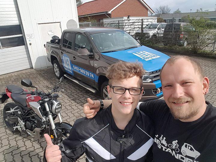Check ERSTER Biker des Jahres 2018 …  …