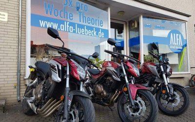 Die Motorradsaison befindet sich in den …